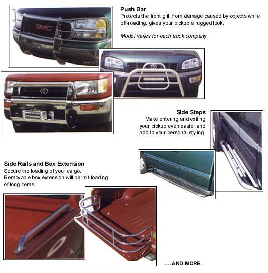 Stainless Steel Truck Accessories Ottawa